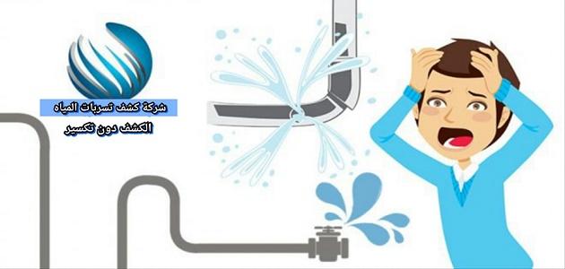 كشف تسربات المياه بالمدينة المنورة 0542637185 - شركة كشف تسربات المياه بالمدينة المنورة بدون تكسير